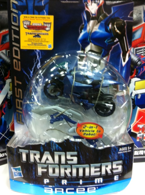 Transformers Prime Wave 1 Arcee