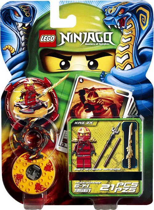 Lego Ninjago The Serpentines Spinners and Models