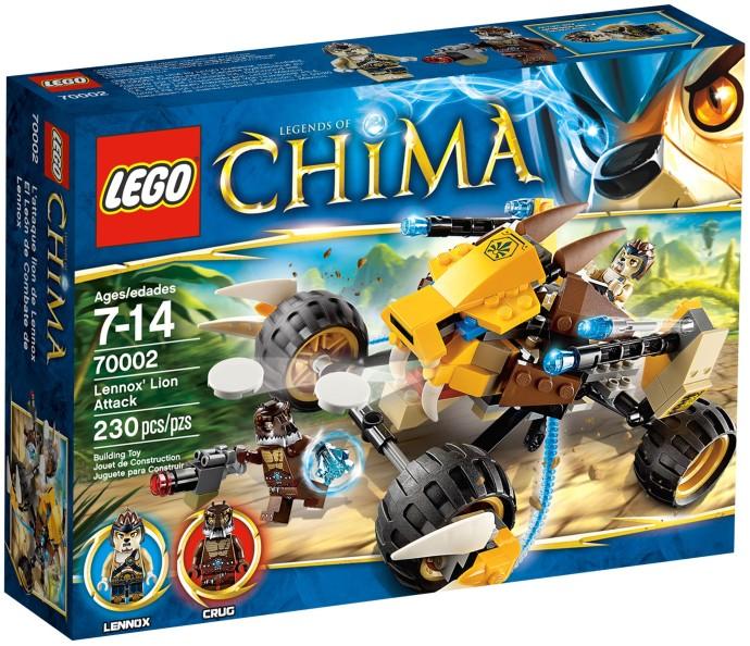 lego 70002 Lennox' Lion Attack