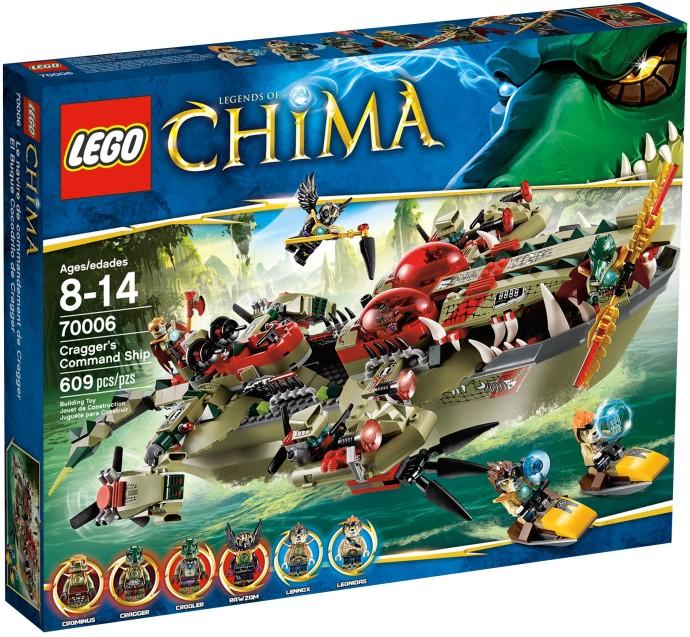 lego 70006 Cragger's Command Ship
