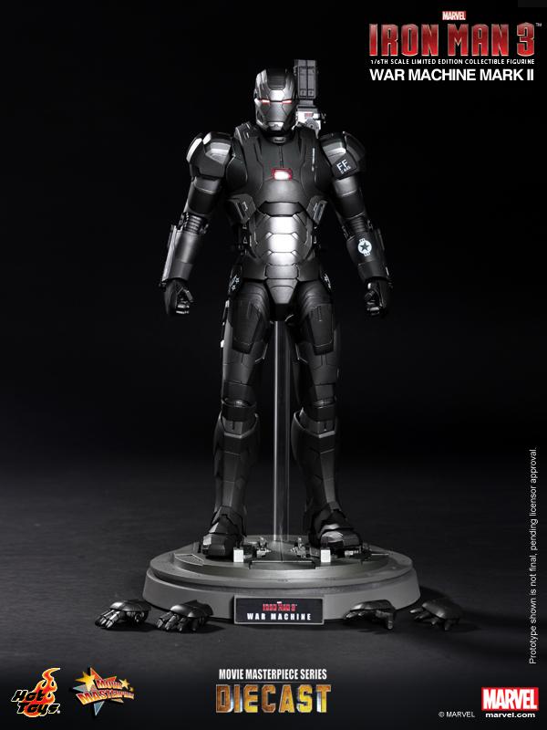 Hot Toys - Iron Man 3 - War Machine Mark II Limited Edition Collectible Figurine_PR13