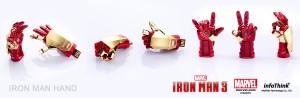 Infothink IronMan 3 USB Flashdrives Glove 04