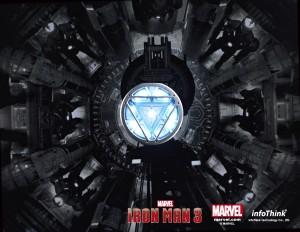 Iron Man 3 USB Flashdrives Arc Reactor