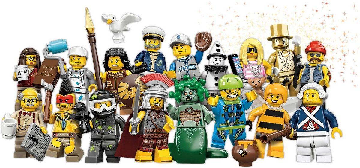 Lego Minfigures Series 10 Banner
