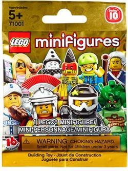 Lego Minifig Series 10 Bag