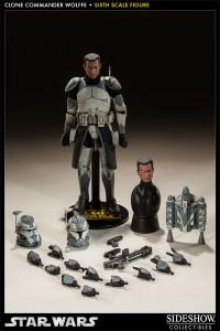 sideshow starwars clone commander wolffe 09
