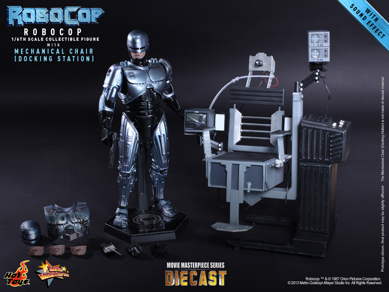 Hot Toys - RoboCop - RoboCop with Mechanical Chair (Docking Station) 11