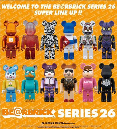 bearbrick series 26