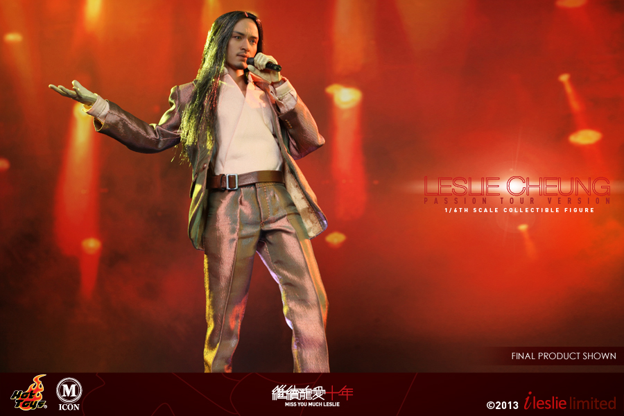 Hot Toys - Leslie Cheung (Miss You Much Leslie - Passion Tour Version) Collectible Figure 1
