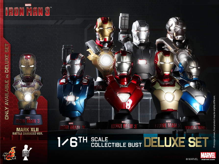 Hot Toys - Iron Man 3 - Collectible Bust Series_PR1