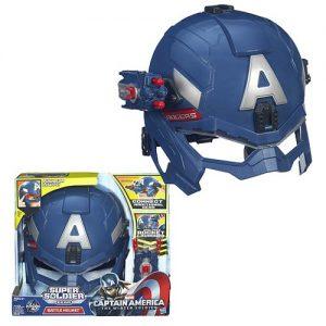 captain america 2 helmet set