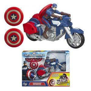captain america 2 motorbike