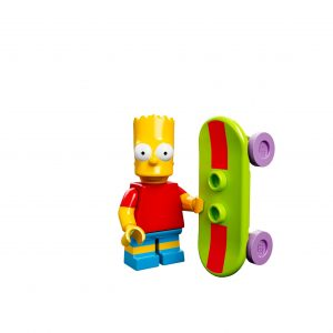 Lego Simpsons Minifig Bart