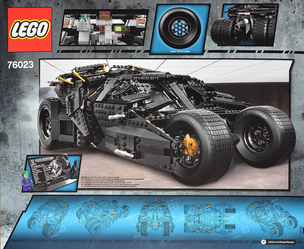 lego ucs 76023 batman the batmobile tumbler toywiz and. Black Bedroom Furniture Sets. Home Design Ideas
