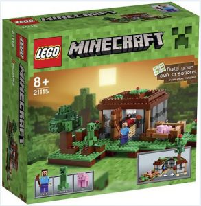 Lego Mincraft 21115 The First Night