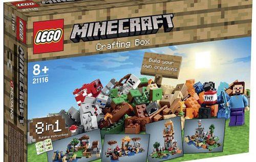 Lego Mincraft 21116 Creative Box
