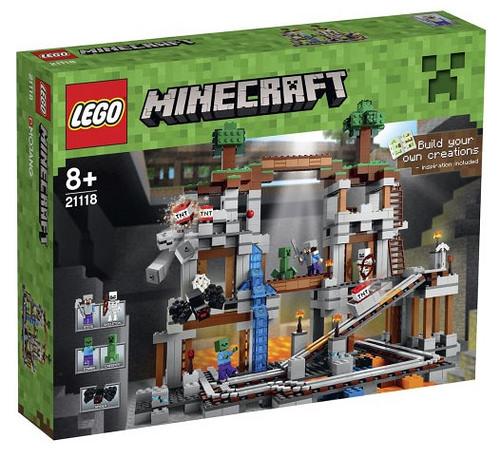 Lego Minecraft 21118 The Mine
