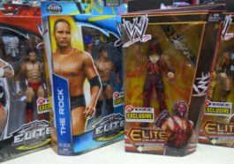 CM Punk, The Rock, Kane, Brock Lesnar