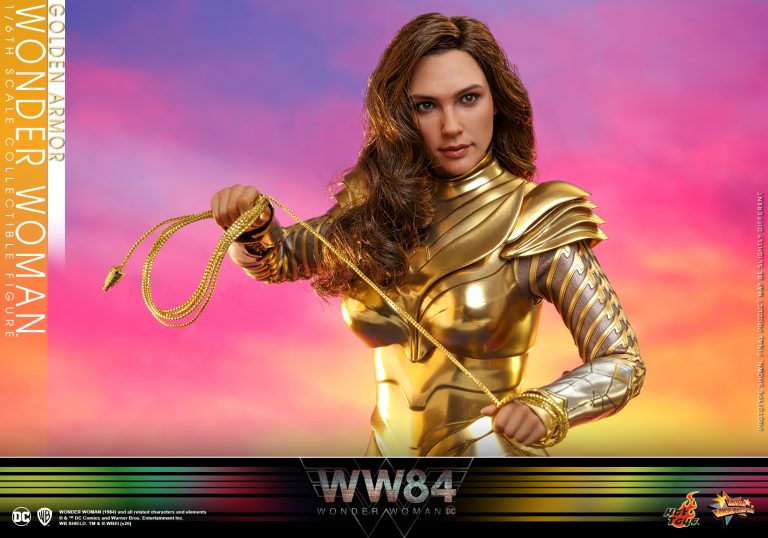 Hot Toys - WW84 - Golden Armor Wonder Woman collectible figure_PR1