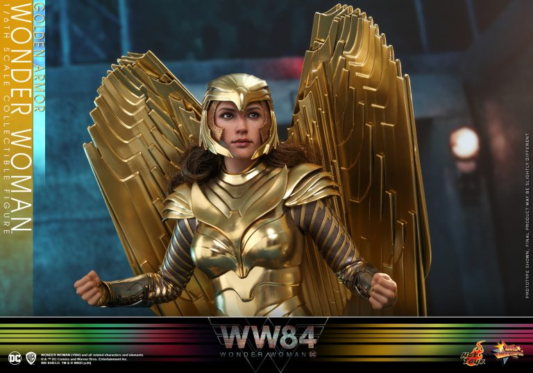 Hot Toys - WW84 - Golden Armor Wonder Woman collectible figure_PR10