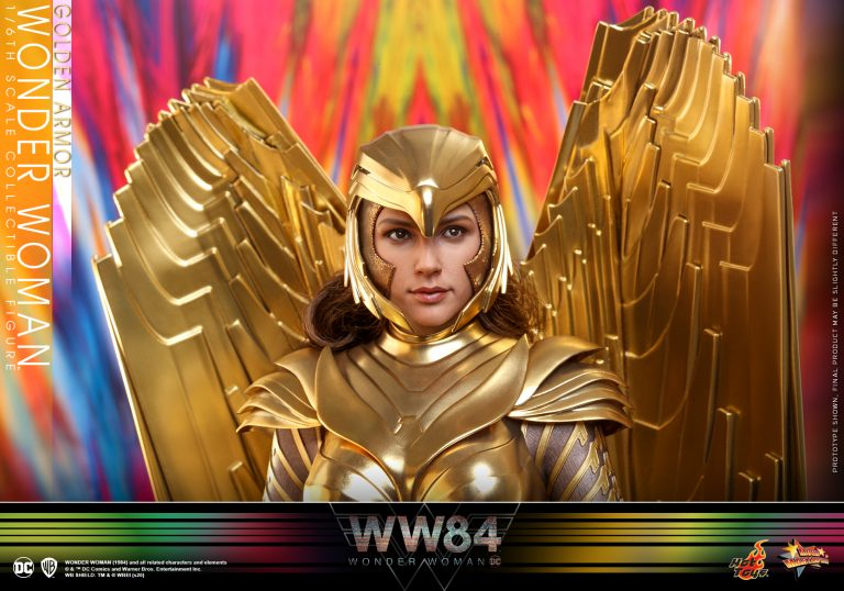 Hot Toys - WW84 - Golden Armor Wonder Woman collectible figure_PR11