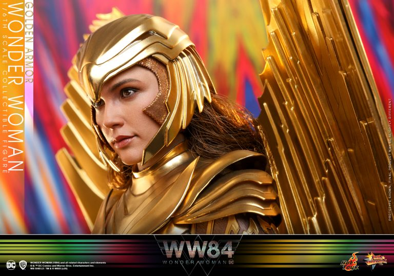 Hot Toys - WW84 - Golden Armor Wonder Woman collectible figure_PR12