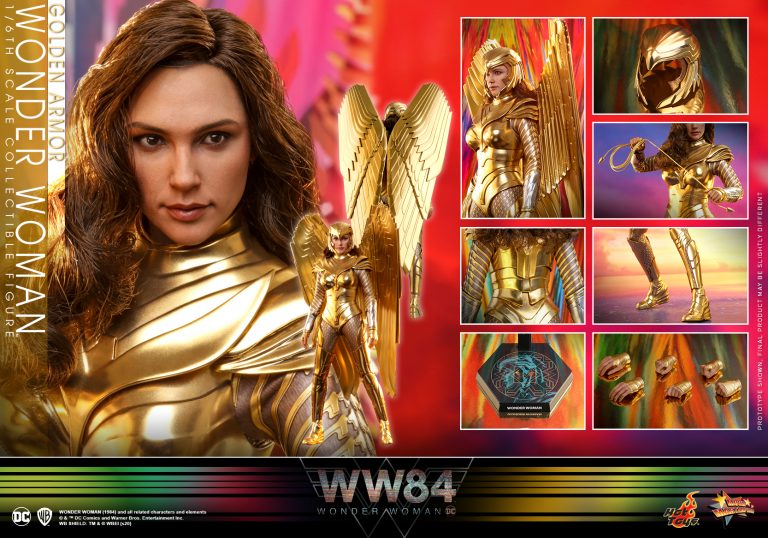 Hot Toys - WW84 - Golden Armor Wonder Woman collectible figure_PR13