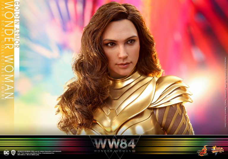 Hot Toys - WW84 - Golden Armor Wonder Woman collectible figure_PR2