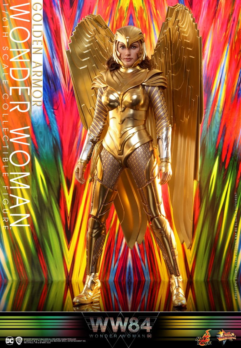 Hot Toys - WW84 - Golden Armor Wonder Woman collectible figure_PR4