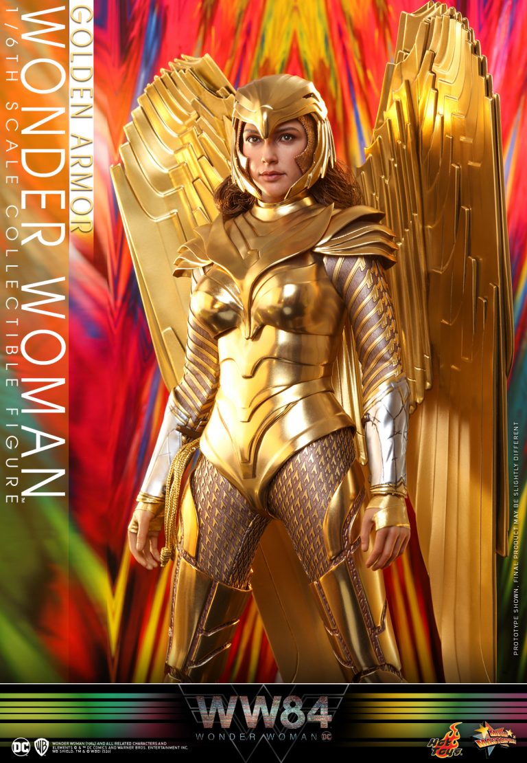 Hot Toys - WW84 - Golden Armor Wonder Woman collectible figure_PR5