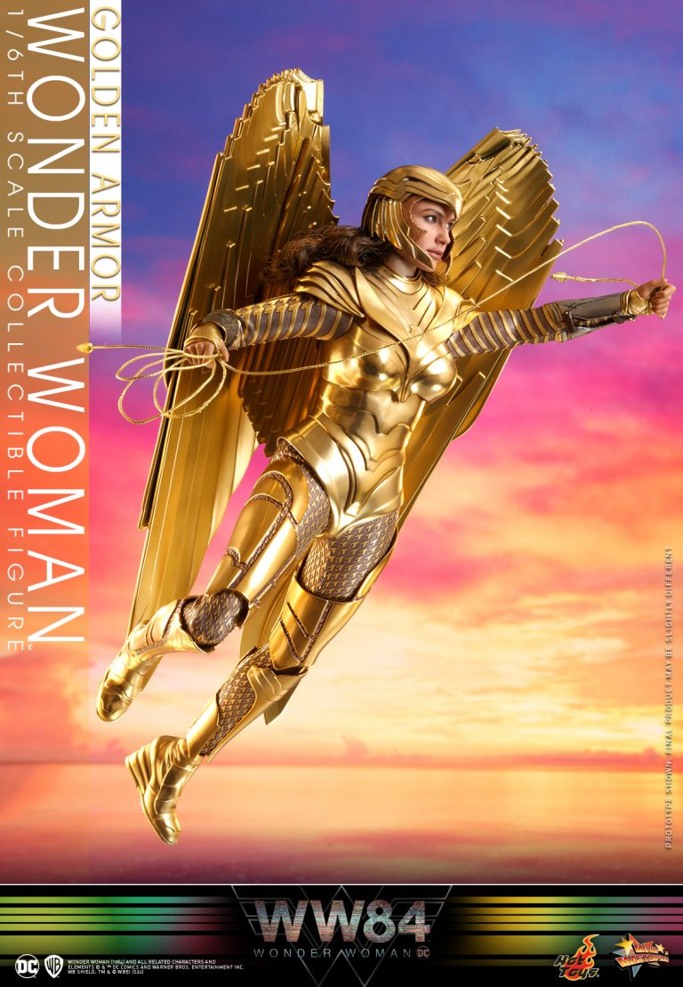 Hot Toys - WW84 - Golden Armor Wonder Woman collectible figure_PR6