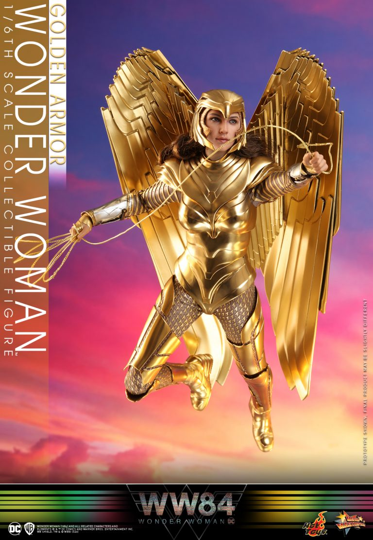 Hot Toys - WW84 - Golden Armor Wonder Woman collectible figure_PR7