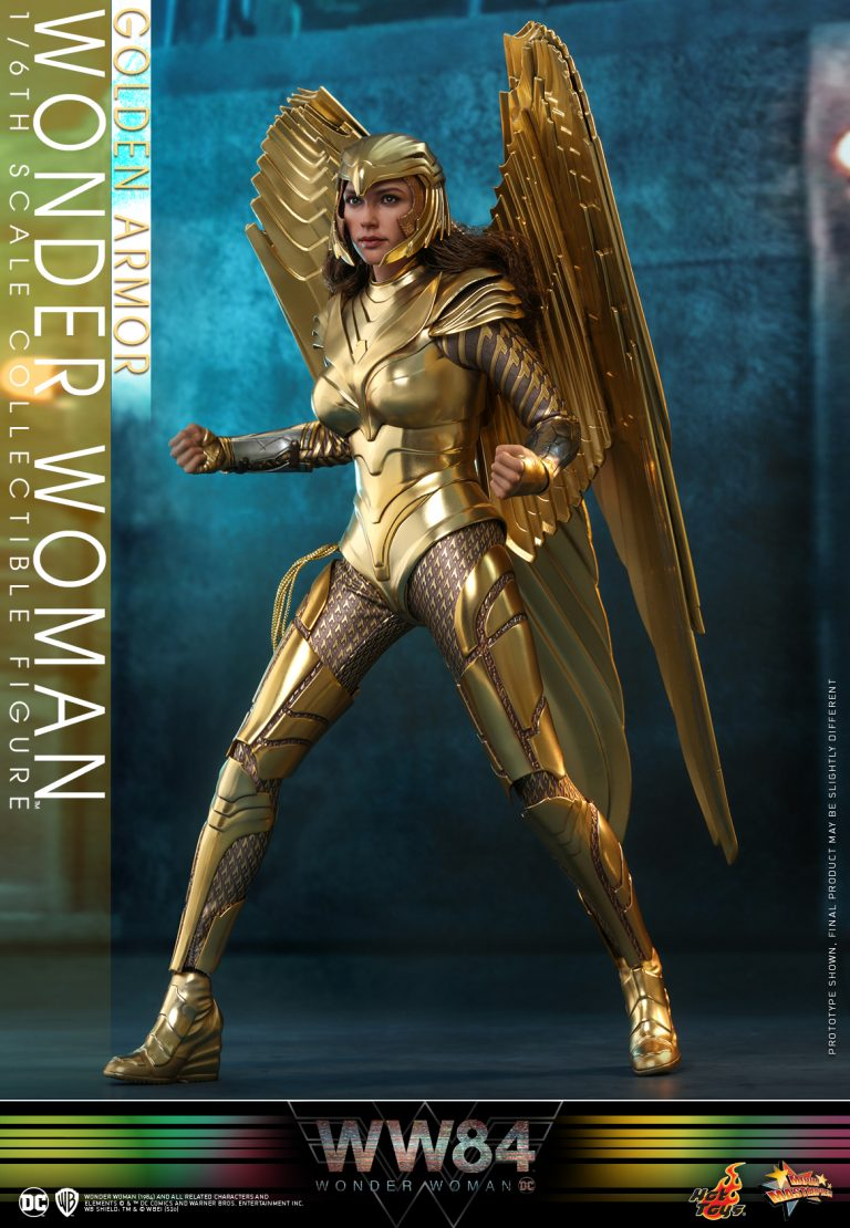 Hot Toys - WW84 - Golden Armor Wonder Woman collectible figure_PR8