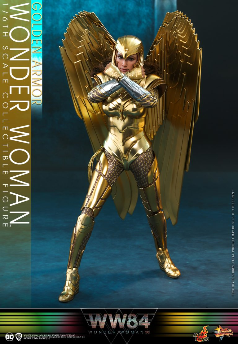 Hot Toys - WW84 - Golden Armor Wonder Woman collectible figure_PR9