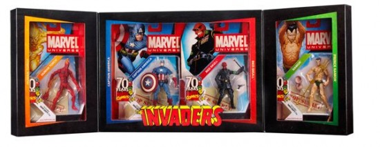 2009 SDCC Marvel Universe Invaders Pack
