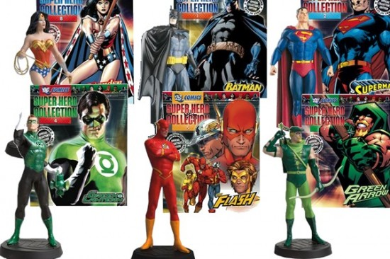 DC Classics Magazine with Lead Figurines