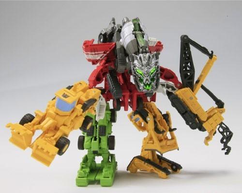 EZ Collections Devastator Combiner
