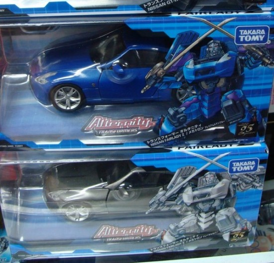 Alternity A-02 Blue and Silver Megatron - Nissan Fairlady Z