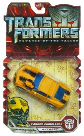 transformers rotf deluxe cannon bumblebee box